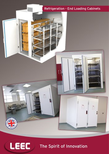 Refrigerated End Loading Cabinet