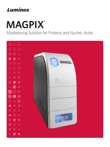 MAGPIX® Multiplexing Solution for Proteins and Nucleic Acids