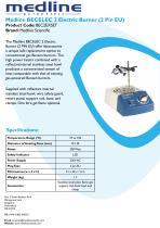 Medline BECELEC 2 Electric Burner (2 Pin EU)