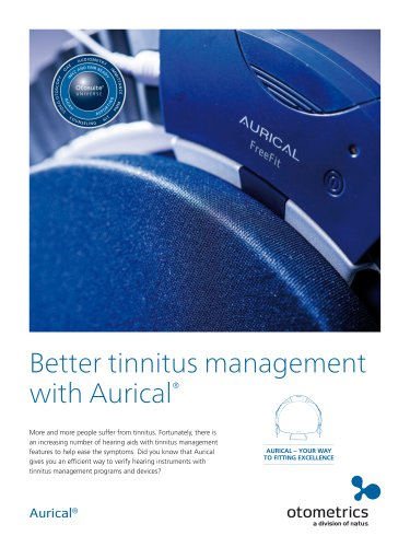 Better Tinnitus management with Aurical