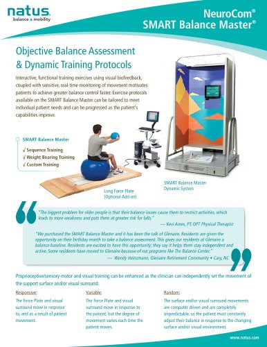 NeuroCom Smart Balance Master