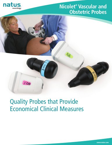 Nicolet Vascular & Obstetric Probes