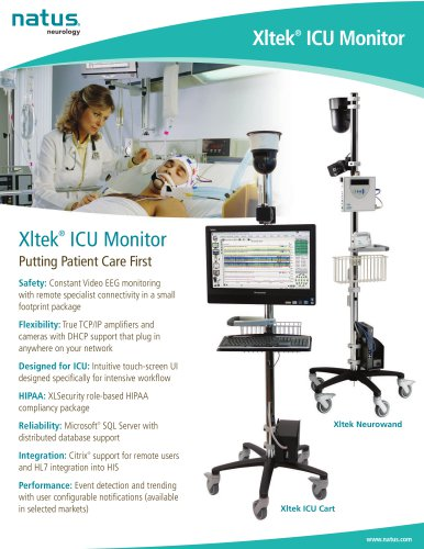 Xltek ®  ICU Monitor
