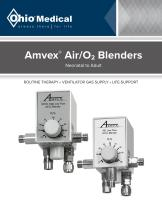 Amvex®  Air/O2 Blenders - 1