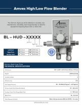 Amvex®  Air/O2 Blenders - 2