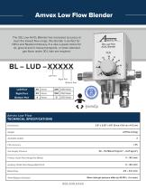 Amvex®  Air/O2 Blenders - 3