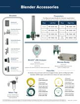 Amvex®  Air/O2 Blenders - 4