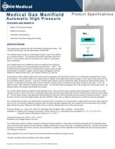 Medical Gas Manifiold Automatic High Pressure - 1