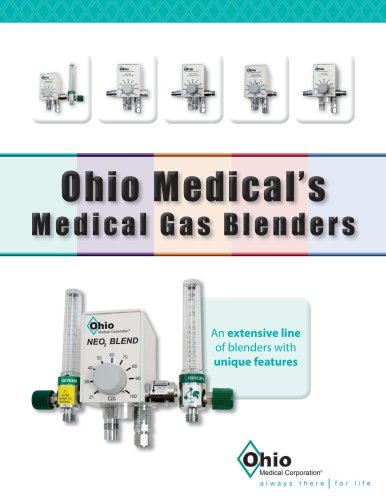 Ohio Medical Blender Brochure