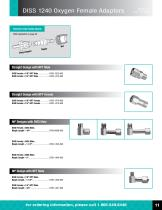 Ohio Medical Gas Fittings And Adapters - 12