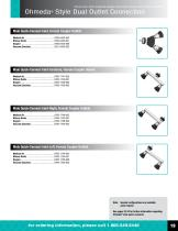 Ohio Medical Gas Fittings And Adapters - 20