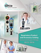 Ohio Medical Respiratory Product And Accessory Catalog