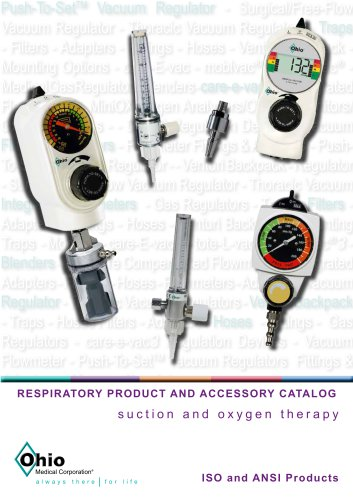 RESPIRATORY PRODUCT AND ACCESSORY CATALOG