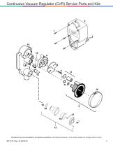 Vacuum Regulator Service Parts And Kits Catalog - 3