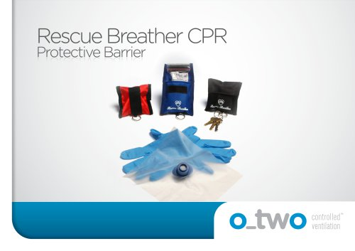 Rescue Breather CPR Protective Barrier