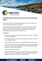 HT-EA Wave High Temperature Elemental Analyser Preparation Module
