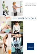 FULL RANGE CATALOGUE MEDICAL COMPRESSION LOWER LIMB AND UPPER LIMB