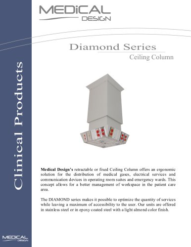 Diamond Series Ceiling Column