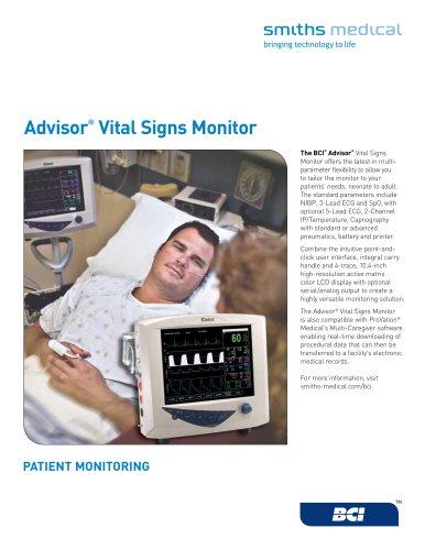 Advisor® Vital Signs Monitor