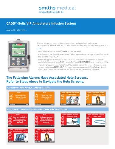 CADD®-Solis VIP Ambulatory Infusion System
