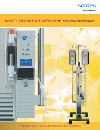Level 1 ® H-1200 Fast Flow Fluid Warmer