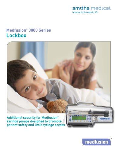 Medfusion? 3000 Series Lockbox
