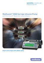 Medfusion® 3500 Syringe Infusion Pump