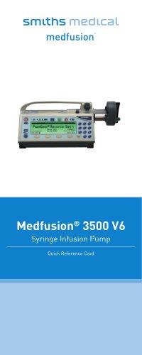 Medfusion® 3500 V6