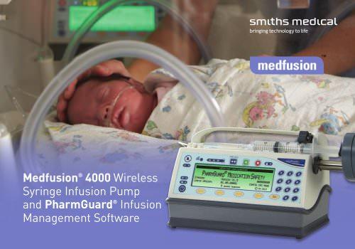 Medfusion® 4000 Syringe Infusion Pump with PharmGuard® Software