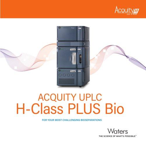 ACQUITY UPLC H-Class PLUS Bio