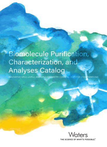 Biomolecule Purification Characterization, and Analyses Catalog