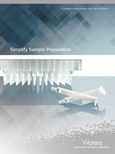 Sample Preparation Solutions Brochure