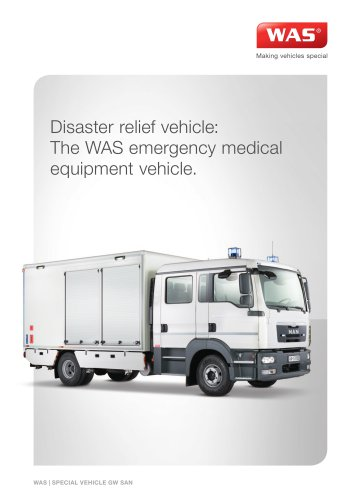 Emergency Medical Equipment Vehicle