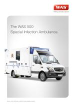Special Infection WAS 500 Ambulance Mercedes-Benz Sprinter Box Body 5 T - 1
