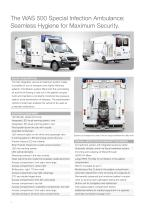 Special Infection WAS 500 Ambulance Mercedes-Benz Sprinter Box Body 5 T - 2