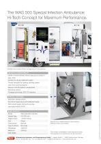 Special Infection WAS 500 Ambulance Mercedes-Benz Sprinter Box Body 5 T - 4