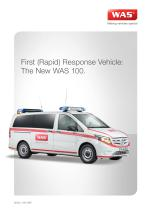 WAS 100 First Response Vehicle Mercedes-Benz Vito 3 T - 1