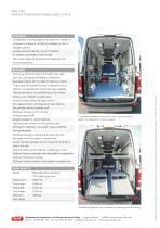 WAS 300 4-Stretcher Ambulance Mercedes-Benz Sprinter Panel Van Type B 3.88 T - 2