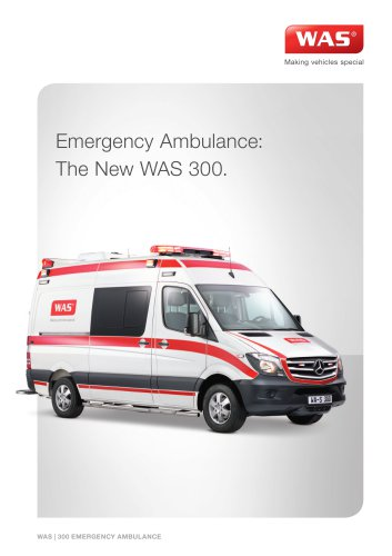 WAS 300 Emergency Ambulance
