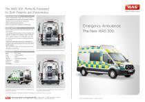 WAS 300 Emergency Ambulance Ford Transit Panel Van 4.3 T - 1