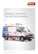 WAS 300 Emergency Ambulance Mercedes-Benz Sprinter Panel Van 3.88 T - 1