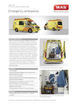 WAS 300 Emergency Ambulance Mercedes-Benz Sprinter Panel Van ALS 3.88 T - 1