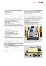 WAS 300 Emergency Ambulance Mercedes-Benz Sprinter Panel Van ALS/BLS 3.5 T - 3