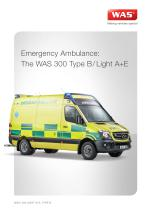 WAS 300 Emergency Ambulance Mercedes-Benz Sprinter Panel Van ALS Type B / Light A+E 5 T - 1