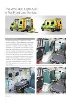 WAS 300 Emergency Ambulance Mercedes-Benz Sprinter Panel Van ALS Type B / Light A+E 5 T - 2