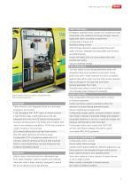 WAS 300 Emergency Ambulance Mercedes-Benz Sprinter Panel Van ALS Type B / Light A+E 5 T - 3
