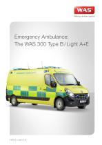 WAS 300 Emergency Ambulance Renault Master Panel Van Type B / Light A+E 3.5 T - 1