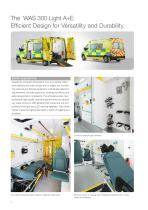 WAS 300 Emergency Ambulance Renault Master Panel Van Type B / Light A+E 3.5 T - 2