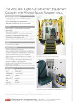 WAS 300 Emergency Ambulance Renault Master Panel Van Type B / Light A+E 3.5 T - 4