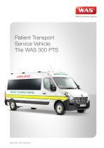 WAS 300 Patient Transport Service PTS Renault Master Panel Van 3.5 T - 1